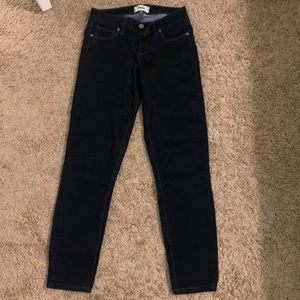 Dark navy Paige jeans